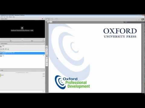 Oxford Professional Development - Find out how our webinars work