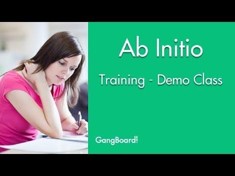Ab Initio Online Training GangBoard