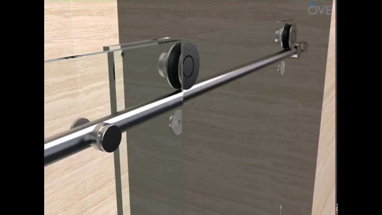OVE Sydney Tub Door installation - YouTube