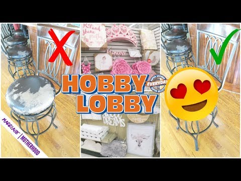 I Recovered My Bar Stools!😱 HOBBY LOBBY Shop With Me!