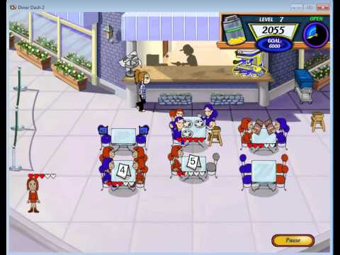 Diner Dash 2 Game In