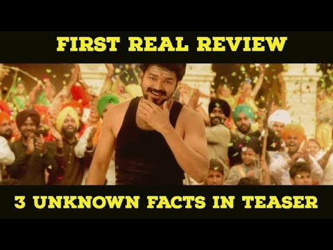 3 Unknown Facts - Mersal Teaser Review - Mersal - Thalapathy - Atlee - AR Rahman