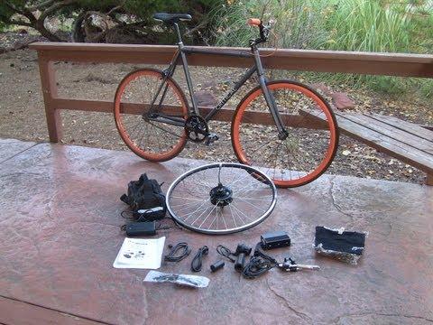 How to install an electric bike hub motor kit phoenix for Electric bike hub motor planetary gear