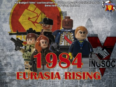 "1984 Part II ""Eurasia Rising""- Sequel to 1984 by George Orwell (Lego Film)"