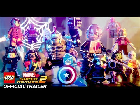 LEGO Marvel Superheroes 2 - Announce Trailer - OFFICIAL Marvel | HD ...