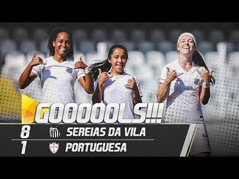 SEREIAS DA VILA 8 X 1 PORTUGUESA | GOLS | PAULISTÃO (15/06/19)