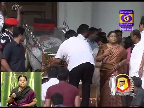 Actor  Prabhu pays His respects  08-08-2018
