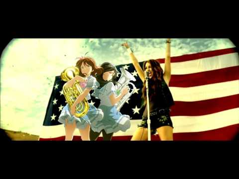 Soundscape in the U.S.A. - Hibike! Euphonium vs. Miley Cyrus