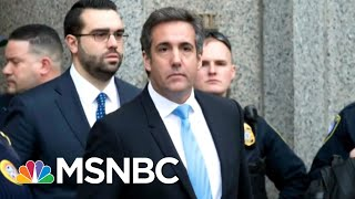 White House Dodges Questions On Michael Cohen Pay-To-Play Allegations | The 11th Hour | MSNBC