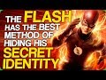 The Flash has the Best Method of Hiding his Secret Identity