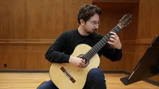 Celil Refik Kaya Performs Agustín Barrios's Vals, Op. 8, No. 3 (music Video)