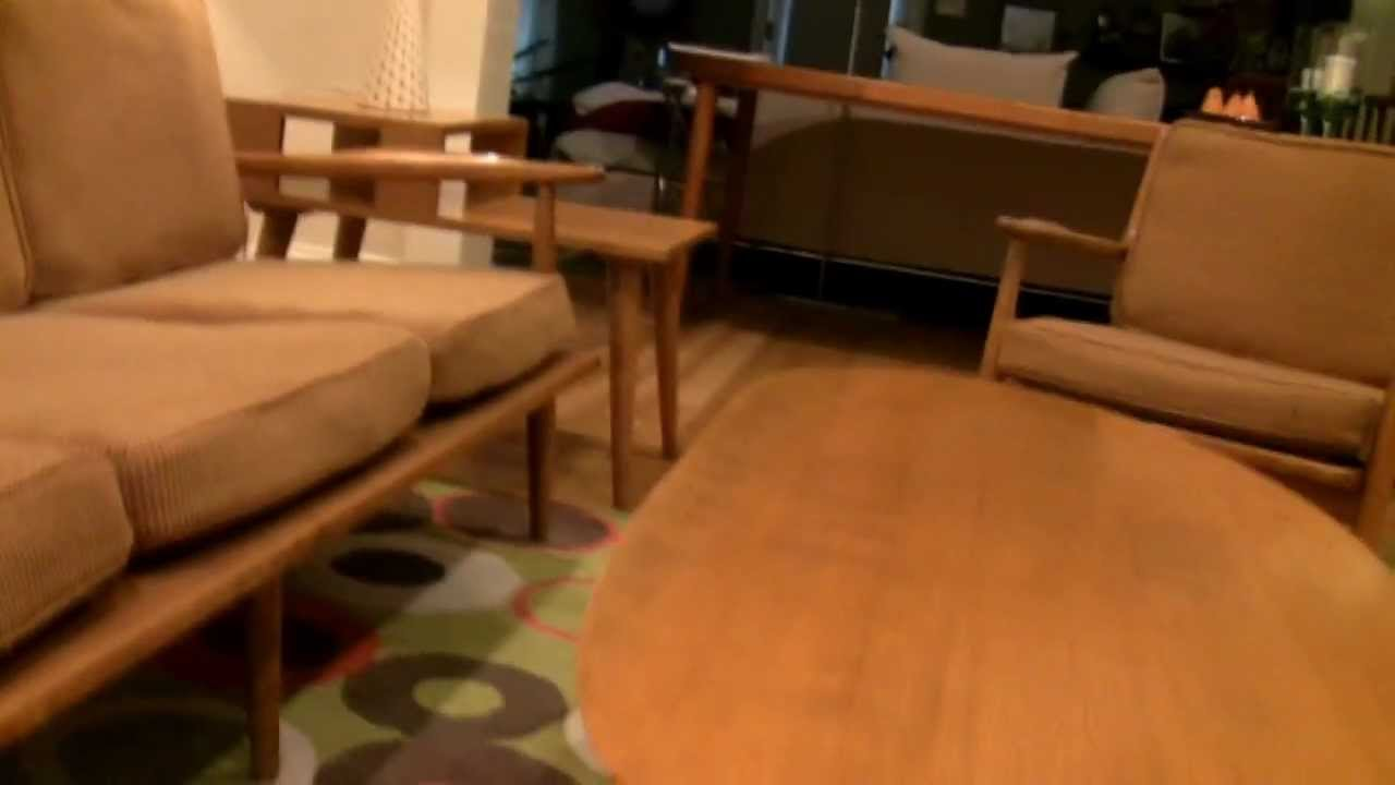 1961 Mid Century Conant Ball Furniture Suite Hd