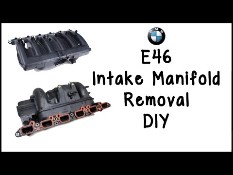 BMW E39/E46 Intake Manifold Removal DIY - YouTube