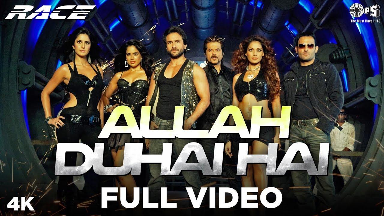 Race Saanson Ki - Allah Duhai Hai Full Video - Race   Saif Ali, Anil, Katrina,Bipasha, Akshaye