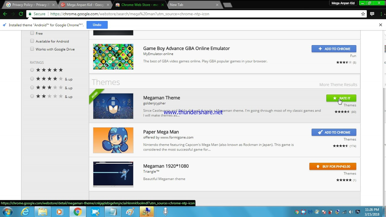wow i got the mega man theme - YouTube