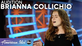 A Walking Miracle! Brianna Collichio Defies All Odds - American Idol 2021