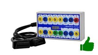 OBD2 коммутационный бокс детектор протоколов / Breakout box car protocol detector