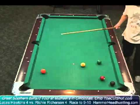 Great Southern Billiards Tour Match Richie Richeson v Lucas Hawkins