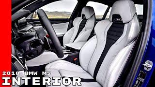 New 2018 BMW M5 Interior