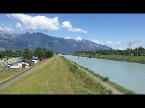Scenic Austria to Switzerland from ÖBB Train