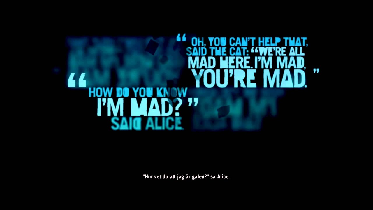 """Quotes From Alice In Wonderland Far Cry 3  All """"alice In Wonderland"""" Quotes  Youtube"""