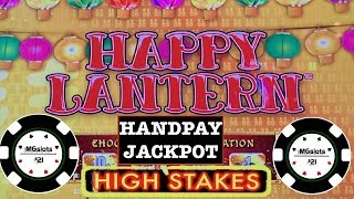 ⚡️HANDPAY LIGHTNING CASH HAPPY LANTERN ⚡️LINK HIGH STAKES ⚡️THE COSMOPOLITAN SLOT MACHINE