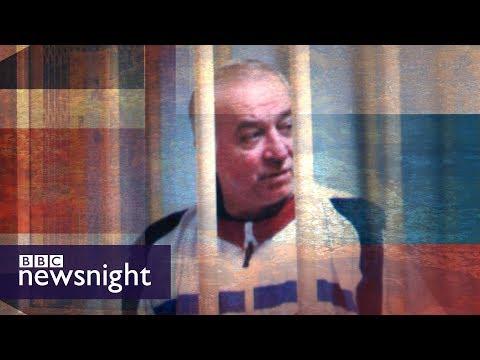 Former Russian spy critically ill - BBC Newsnight