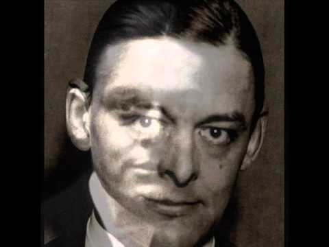 """TS Eliot Reads """"A Game of Chess"""" (II of """"The Waste Land"""") - Columbia Masterworks, 1949 LP 