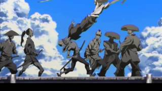 Afro Samurai Ressurection: Bridge fight. HD