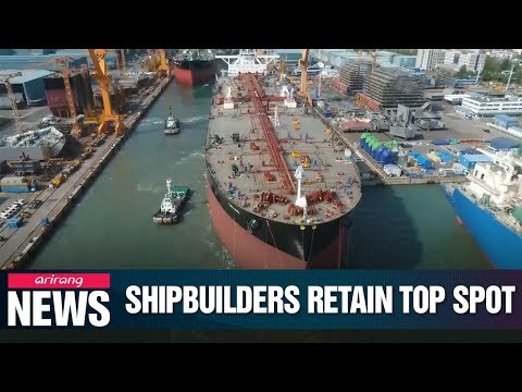 S. Korean shipbuilding industry records highest amount of orders for 4th straight month in August