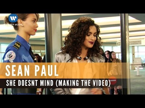 Sean Paul - She Doesn't Mind  (Behind the Video)