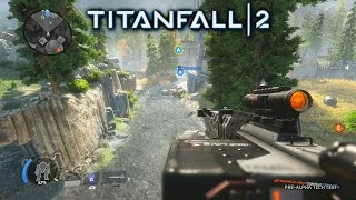TITANFALL 2 SNIPER GAMEPLAY - NEW PILOT vs PILOT GAME MODE