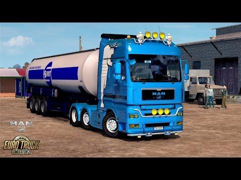 ETS2 1.30 The Moscow Region MAN TGA Serebryanye Prudy - Company 10