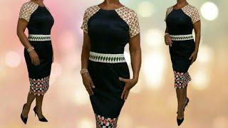 Aprenda a Fazer Vestido Tubinho com Recortes Florais