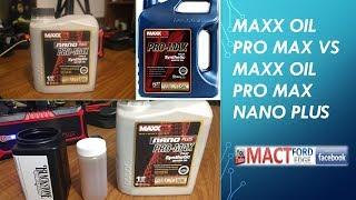 MAXX oil Pro Max and Pro Max Nano Plus VOA testing results