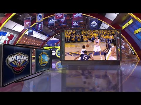 [Playoffs Ep. 2] Inside The NBA (on TNT) Halftime – Pelicans vs. Warriors Highlights Game 2  4-20-15