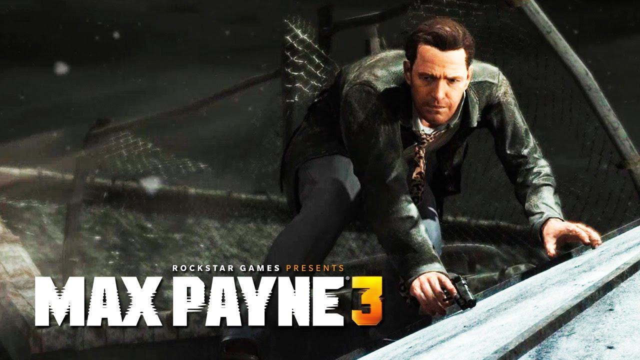 Max Payne 3 3 Flashbacks Nos Telhados Youtube
