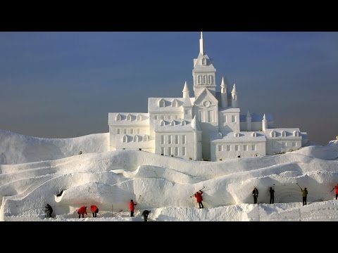 TOP 5 BIGGEST SNOW FORTS IN THE WORLD ( Insane Igloos )