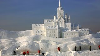 epic snow fort