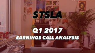 Tesla Q1 2017 Earnings Call Analysis   Model 3 On Track, Semi = Gamechanger