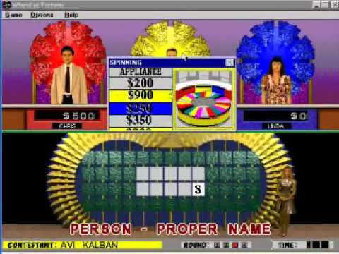 Wheel Of Fortune Deluxe Edition For Pc Youtube