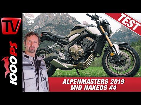 Honda CB650R im Alpenmasters Test - Vergleich - Naked Bike Mittelklasse 4/4