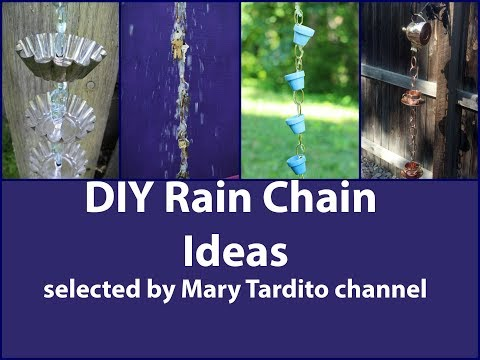 DIY Rain Chain Ideas
