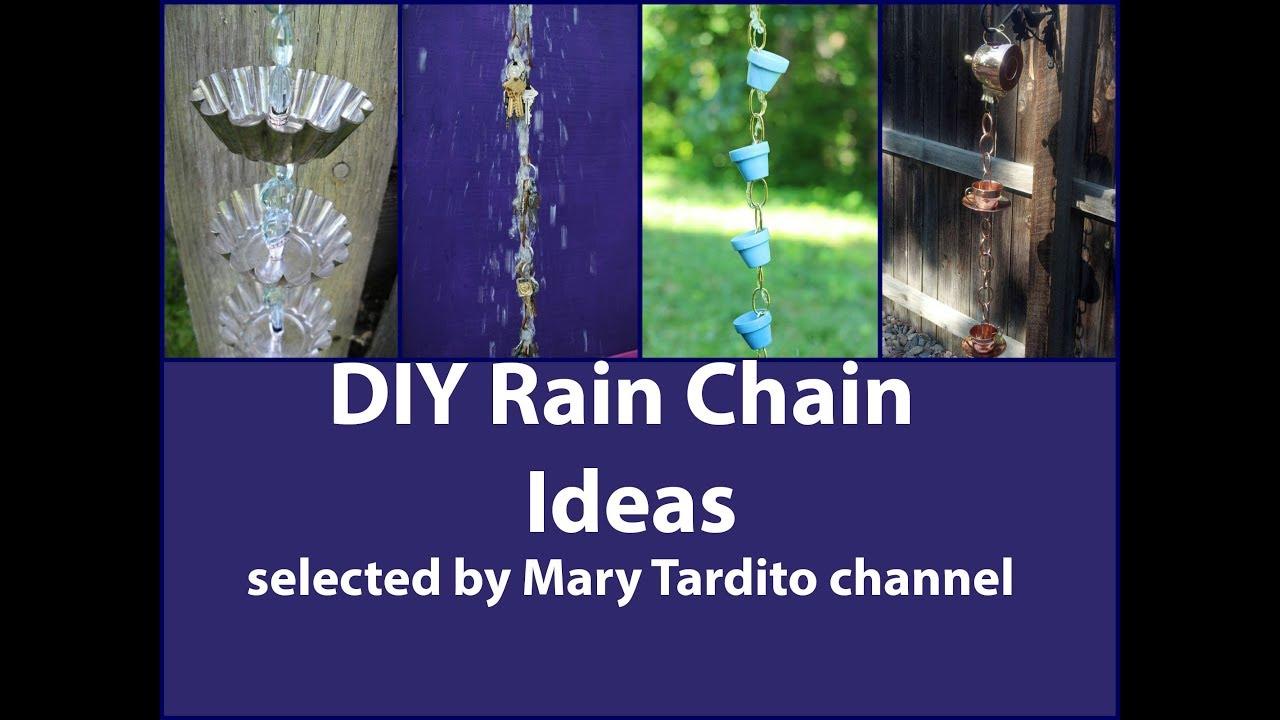 Diy Rain Chain Ideas Youtube
