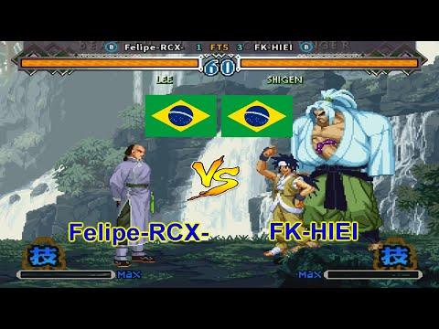 The Last Blade 2 - Felipe-RCX- vs FK-HIEI FT5 |