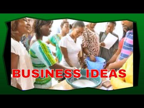 BUSINESS IDEAS IN GHANA  WITH LITTLE CAPITAL