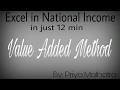 Value Added Method of National Income - class 12 Boards- By Priya Malhotra