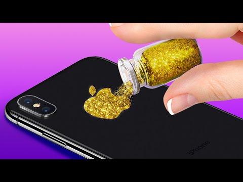 34 SIMPLE DIYS TO MAKE YOUR PHONE LOOK BRILLIANT