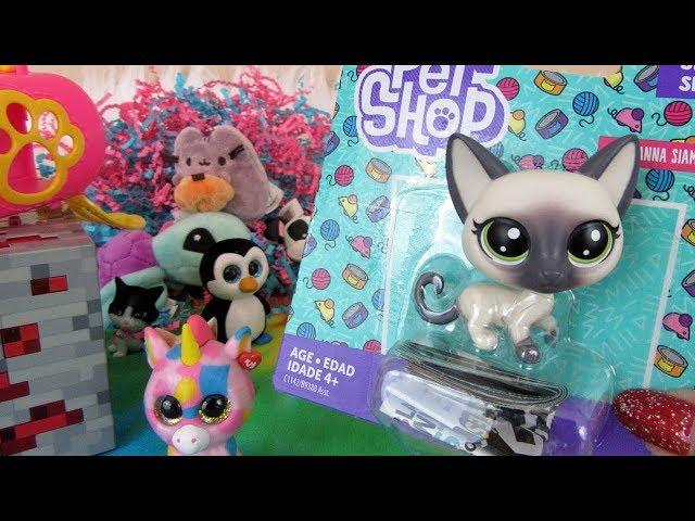 Blind Bag Openings, Littlest Pet Shop, Minecraft & More! | Package Swap FT OhCluckToys!