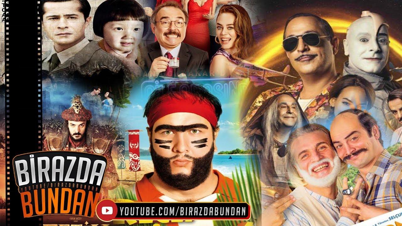 Sinemada En çok Izlenen 20 Türk Filmi 2018 Youtube